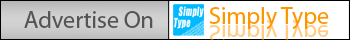 Advertise on Simply Type